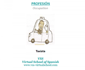 Spanish vocabulary: taxista