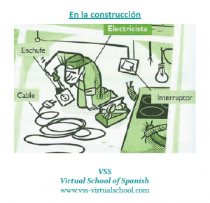 Spanish vocabulary: Electricista en la construcción